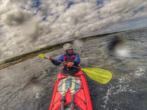 David Horkan testing AT Oracle paddles + review